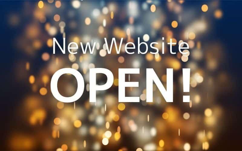 New Website OPEN